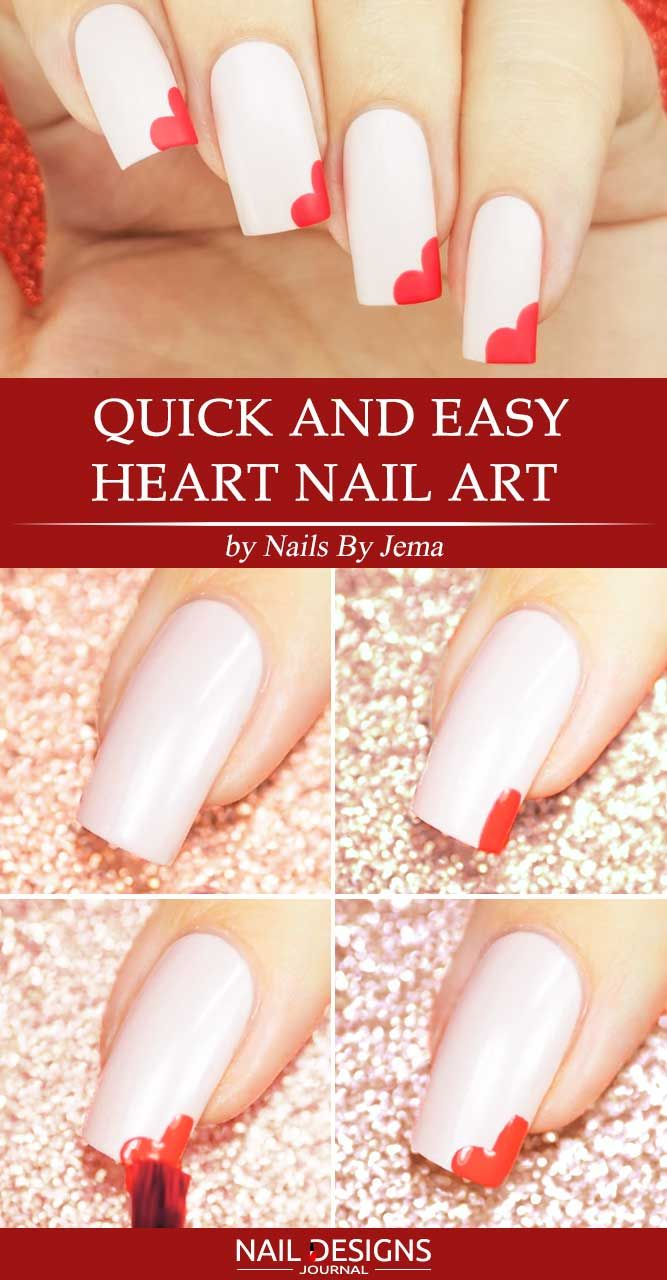 25 Beautiful And Simple Nail Designs Naildesignsjournal Com Simple Nail Designs Nail Art Diy Simple Nail Art Designs