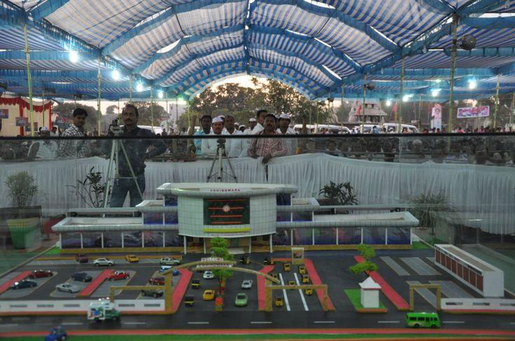 A model of Chhindwara railway station   #ModelRailway #Railway #Chhindwara #Kamalnath #MadhyaPradesh