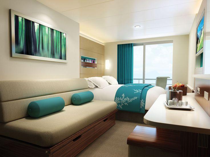 Norwegian Breakaway Staterooms | Aft Facing Balcony Staterooms | Norwegian Cruise Line