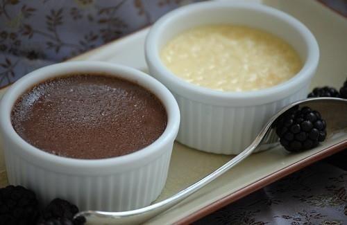 Шоколадово крем брюле - рецепта от сайта Bulgarian-kitchen.com