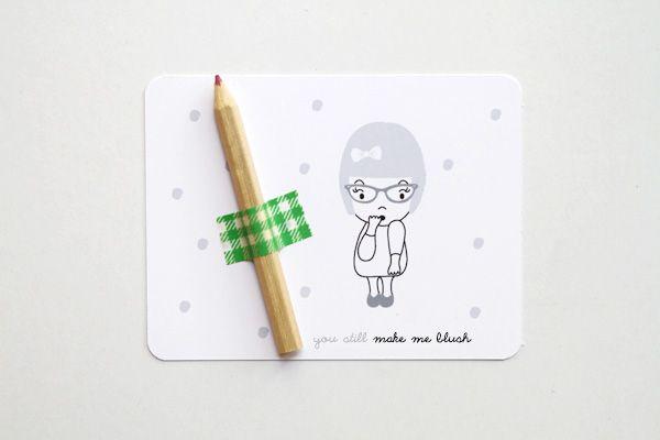 Valentine You Still Make Me Blush...(DIY + FREEBIE!) » Eat Drink Chic