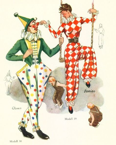 1950's Vintage Costumes 50 Patterns for Women,Men and Children