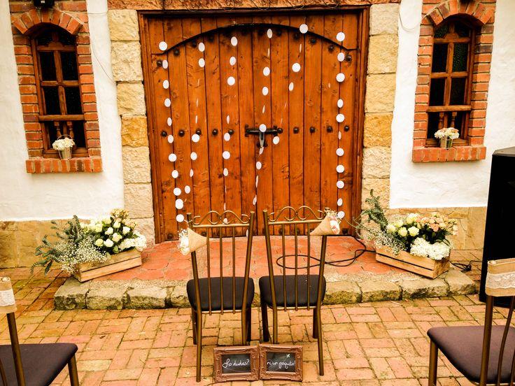 Un cuento de boda. ceremonia