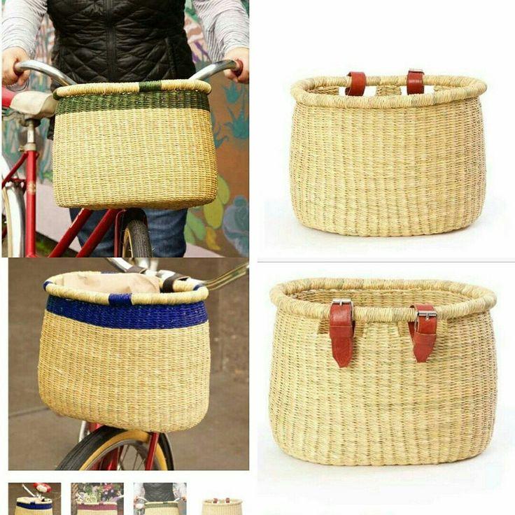 Handwoven bike baskets 😍💕 see more 👉 www.africablooms.etsy.com 💕 #bicycling #bicycle #bike #statement #bikelife #bikes #family #basket #bikepacking #fashiondiaries  #fun