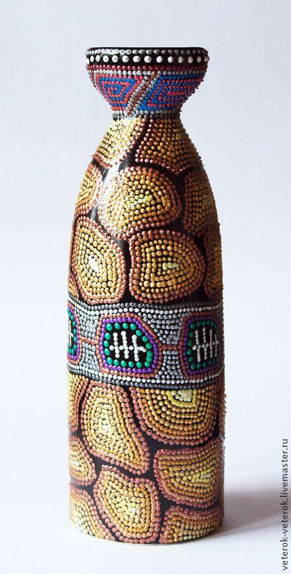 "Вазочка ""Жирафа"". Handmade."