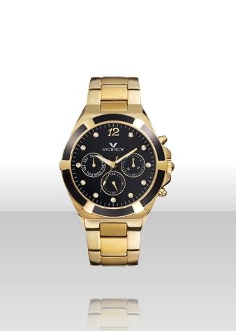 Reloj dorado Viceroy