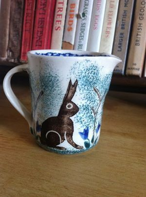 Bell Pottery small Hare jug.