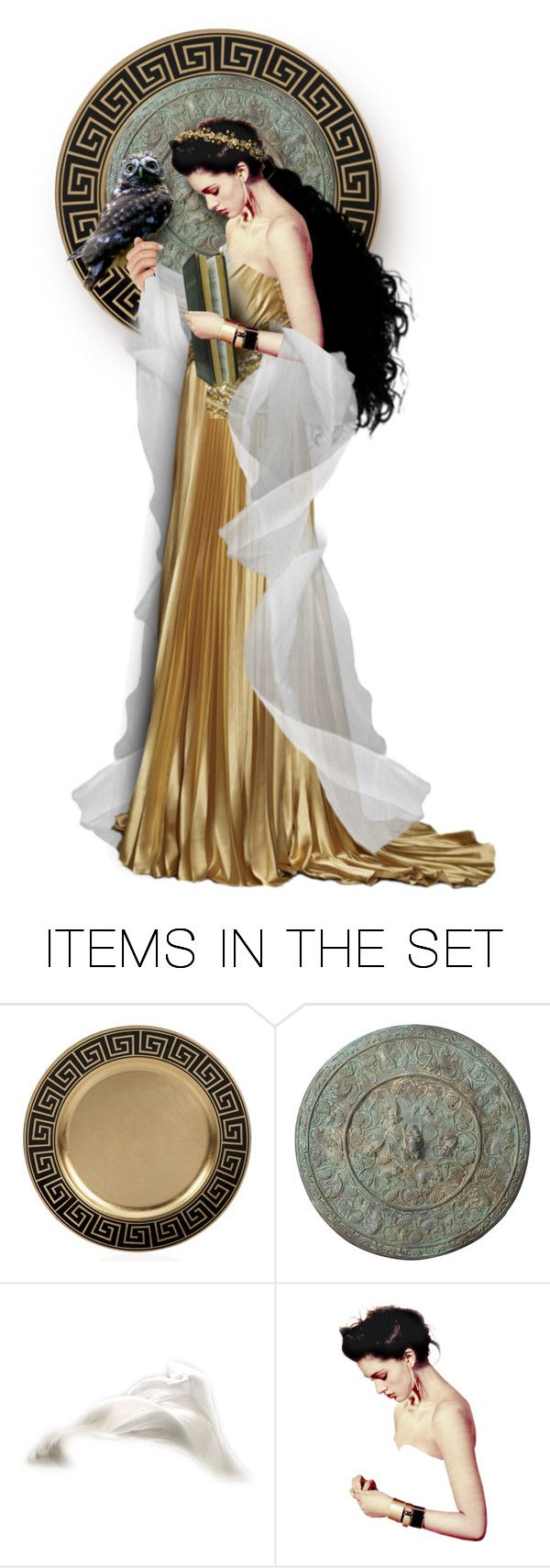 """Athena: Goddess of Knowledge"" by mandy-ruth ❤ liked on Polyvore featuring art"