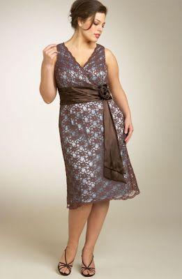 Estos bellos vestidos de fiesta para gorditas que te brindo ahora son diseños modernos y elegantes