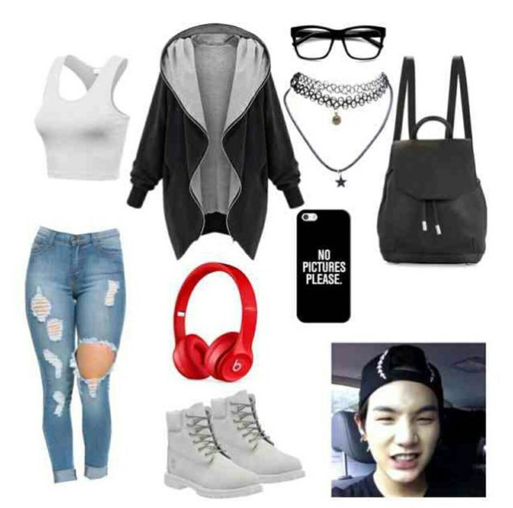 Pin by Gu00e9nesis Rosario on BTS polyvore | Pinterest | Kpop outfits Inspired outfits and Clothes
