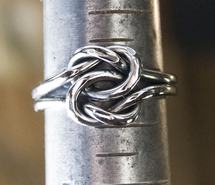 Celtic Wedding Knot STAINLESS. $30.00, via Etsy.: