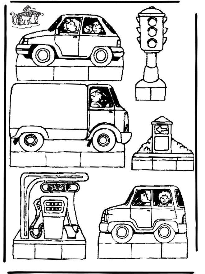 malvorlage maske | Malvorlagen Basteln / Basteln Guckdosen / Schaudose Verkehr