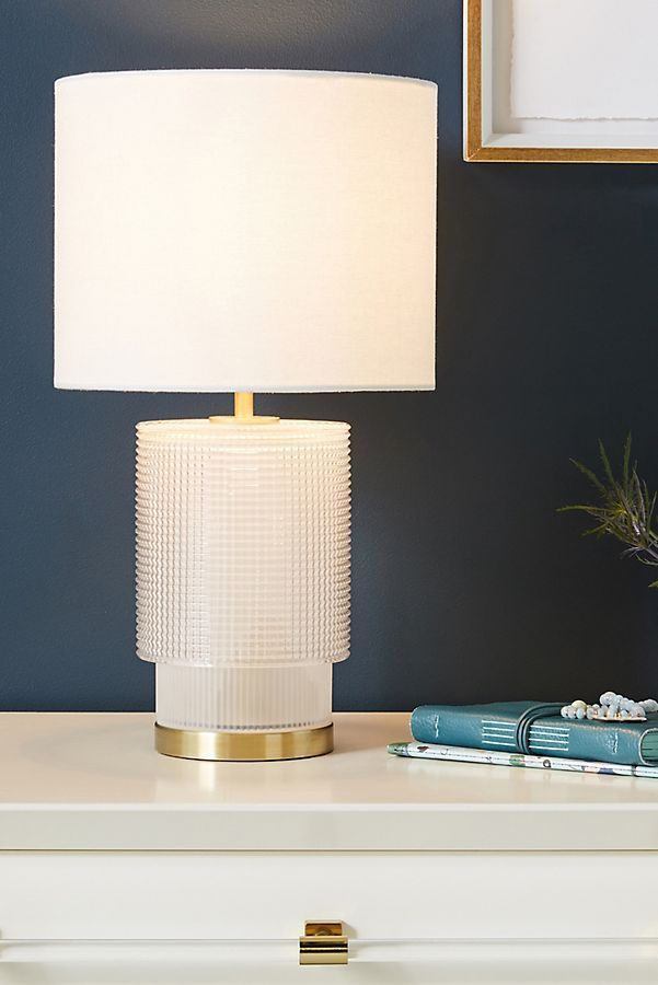 Geraldine Table Lamp By Anthropologie In Grey Lighting Lamp Table Lamp Modern Lamp #teal #lamps #for #living #room