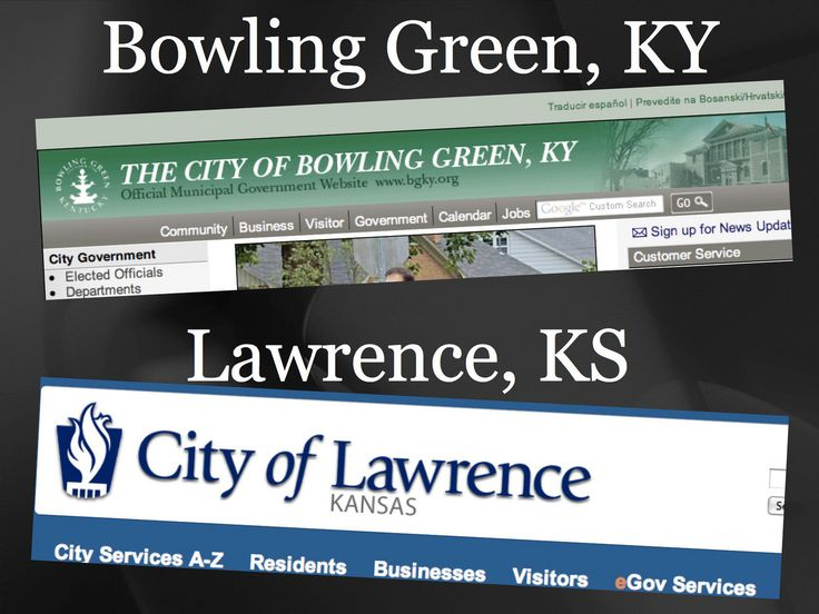 Cities of Bowling Green, KY and Lawrence, KS | by NAGW