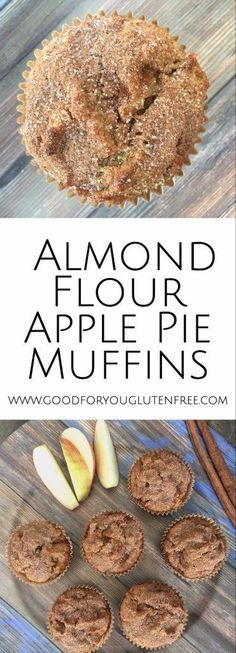 Almond Flour Apple Pie Muffins
