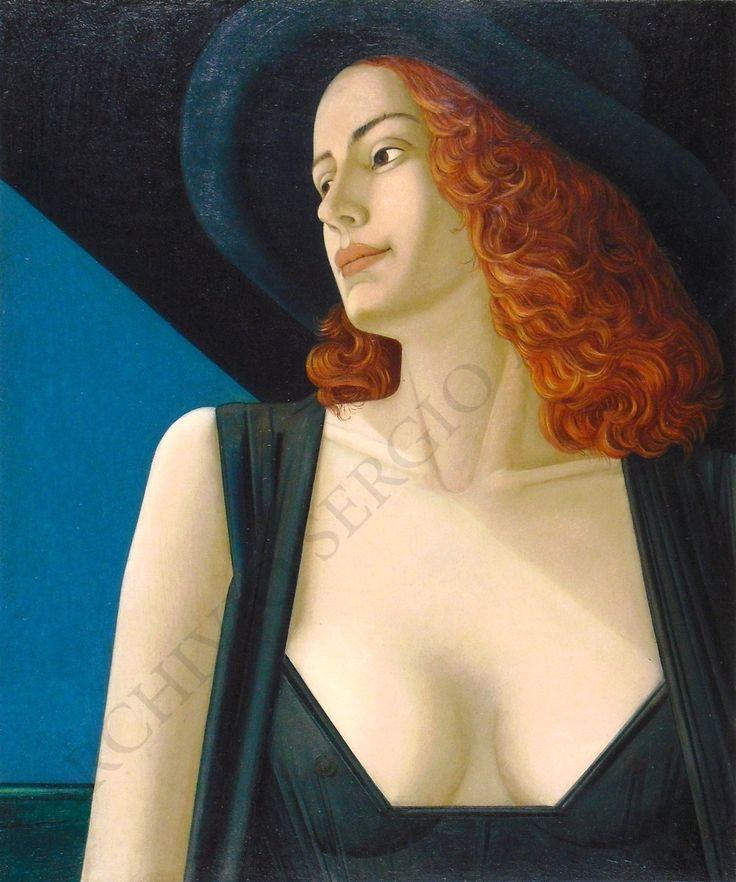 Rossana - 30 x 25 cm - olio su tavola (executed in 1997)