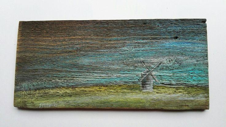 Olejne malarstwo na starych deskach Sylwia Michalska, www.artpracownia.wordpress.com