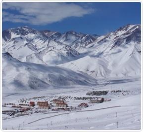 Valle Nevado, perfecto para un día a la nieve :)