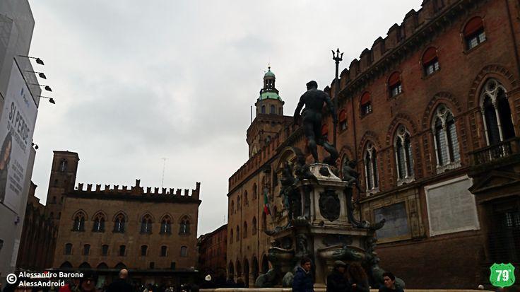 Fontana del Nettuno, Palazzo D'Accursio e Palazzo dei Notai #Bologna #EmiliaRomagna #Italy #Italia #79thAvnue #EIlViaggioContinua #AlwaysOnTheRoad