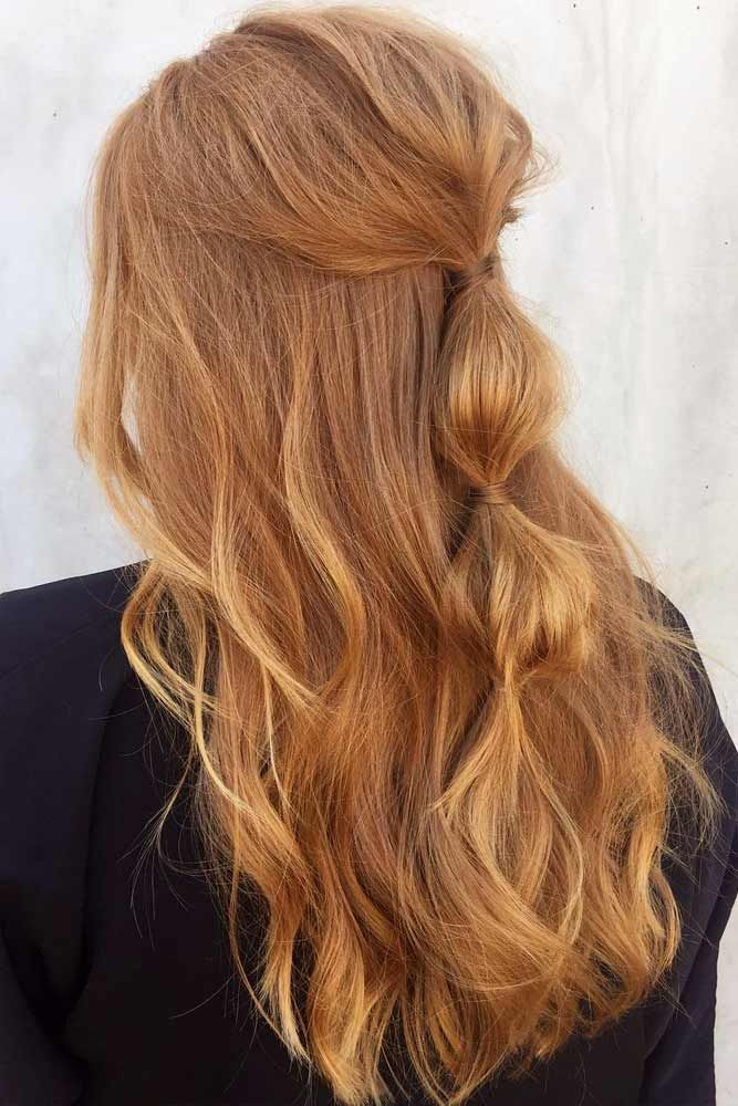 Strawberry Blonde New Season Brings Fresh Hair Trends Glaminati Com Long Hair Styles Strawberry Blonde Hair Color Hair Color Dark