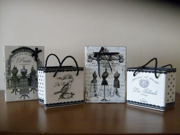siyah&beyaz kutular/black&white boxes