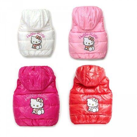 Hello Kitty pufi mellény - 4 színben