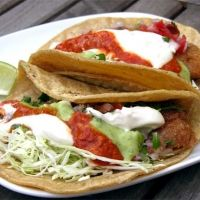 Ensenada Style Fish Tacos. I can testify that these are the original!