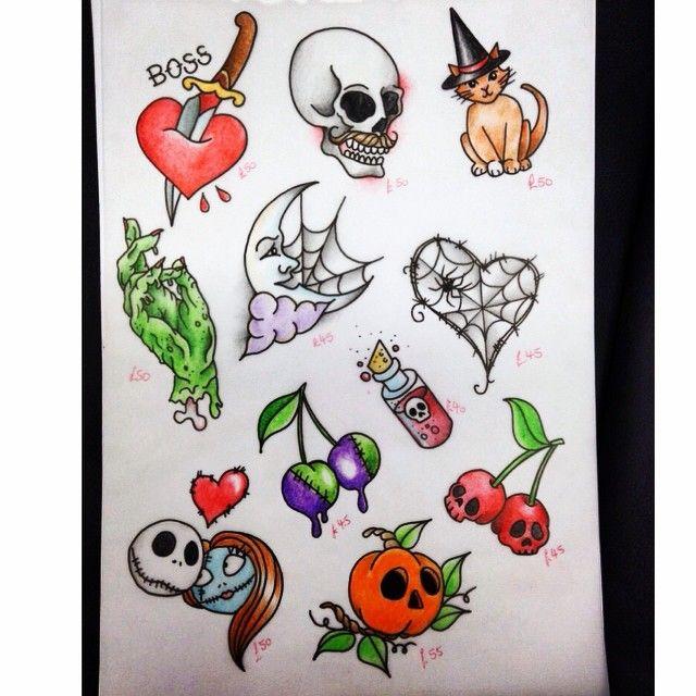 Halloween flash art