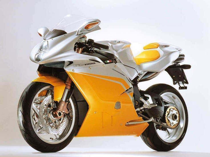 MV Agusta F4. I don't know if it's more beautiful coming or going.