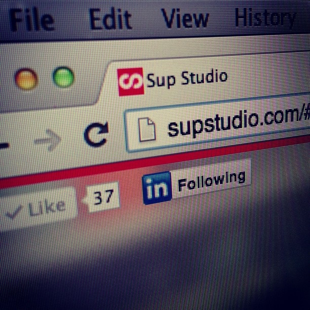 Yay! We finally got round to giving ourselves a new website.. just like builders, the last thing you get around to is your own www.supstudio.com
