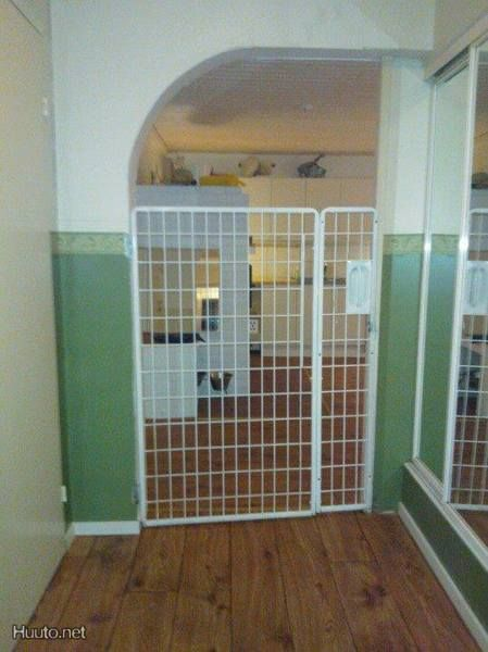 Extra Tall Metal Dog Gate Huuto Pet Pinterest Tall Dog