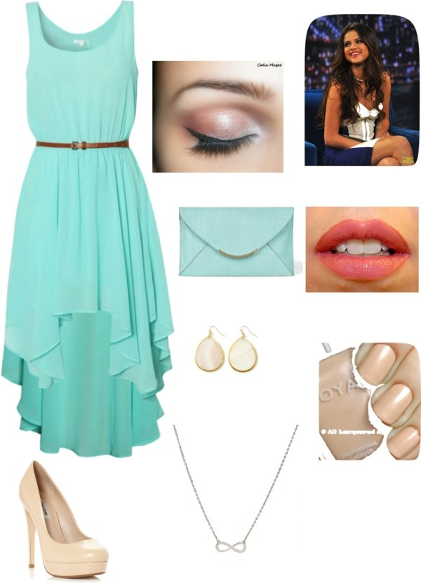 high low dresses polyvore - photo #28
