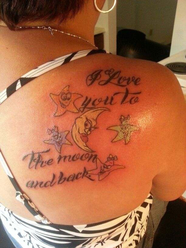 27 best tattoo ideas images on pinterest tattoo ideas for Tattoos with grandchildren s names