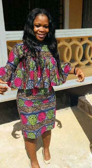 33aa3d47d5620 Online Hub For Fashion Beauty And Health  Lovely And Stylish Ankara Long  Gown Dress For The .