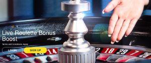 ROXY PALACE CASINO - Live Roulette Bonus Boost - UK Casino List