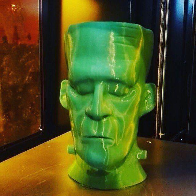 Una stampa da paura  A scary 3d print  #halloween #kszero #3dprinting #stampa3d