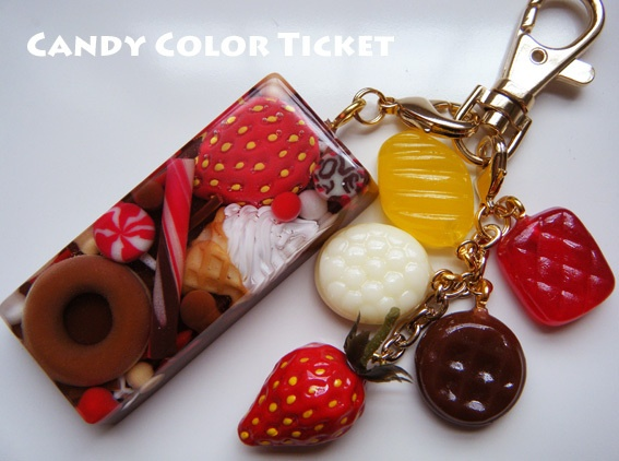 From Candy Color Ticket