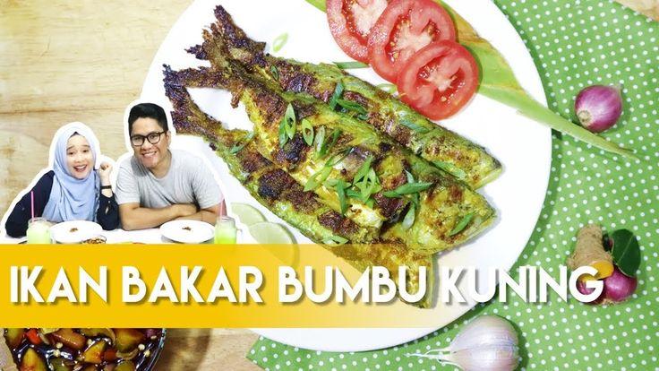 Resep Ikan Bakar Bumbu Kuning ala Dapur Adis.  Grilled Fish Indonesian Recipe by Dapur Adis