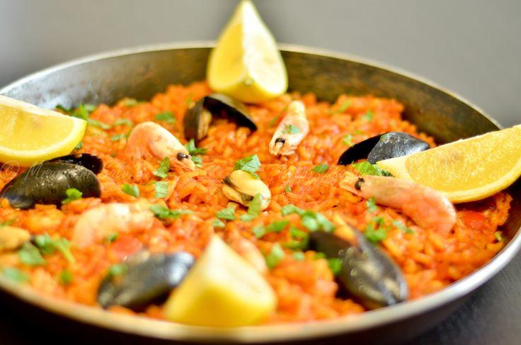 Paella (Spanish rice)