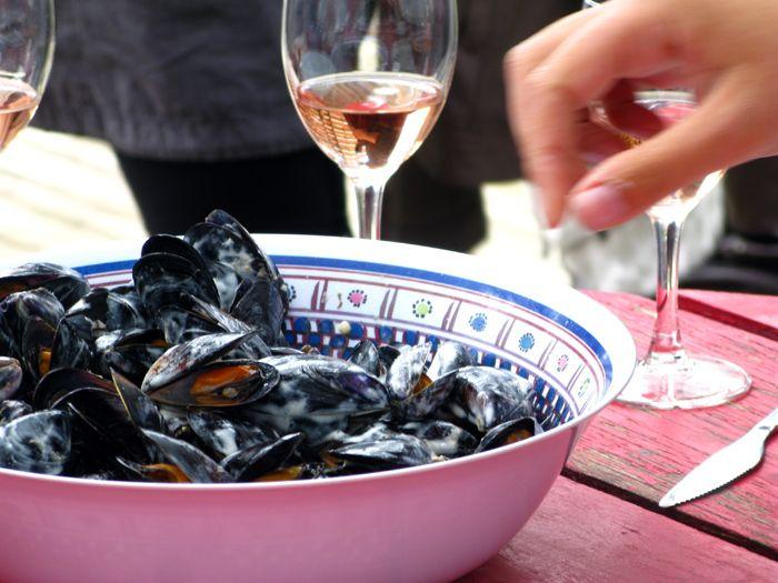 Mussels in Aïoli Sauce