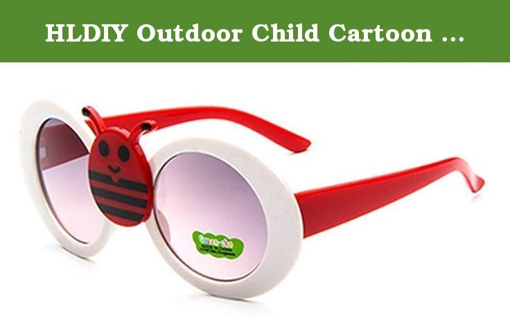 HLDIY Outdoor Child Cartoon Ladybird Anti-UV Sunglasses Goggles. This glasses is designed for Kids outdoor activities. Your kids will love wearing these Sunglasses at beach parties, pool parties, and summer parties.
