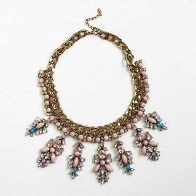 Redcurrent Blush Palace Necklace $65.00.