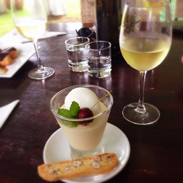 What is the food like at Ake Ake Vineyard Restaurant, Kerikeri, Bay of Islands, New Zealand?