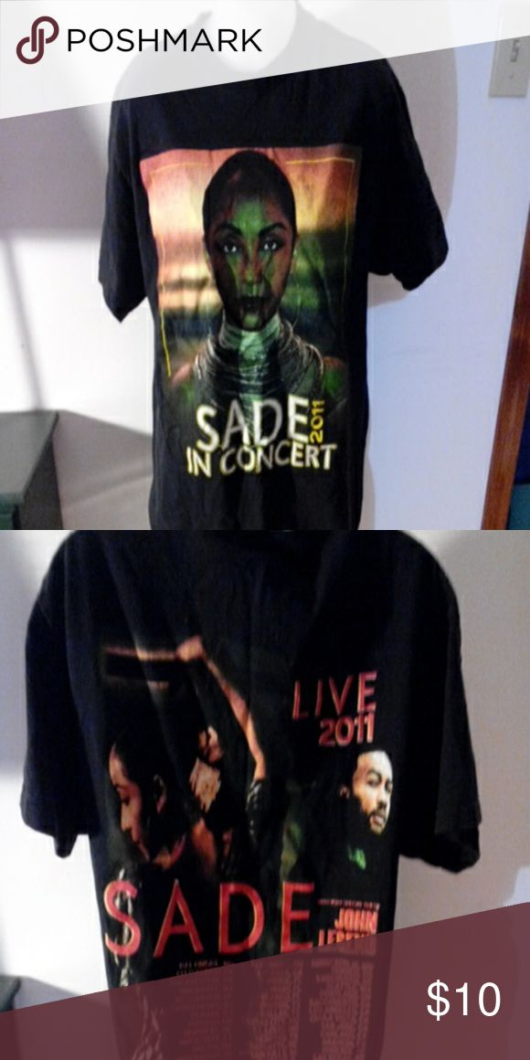 Sade concert t shirt Concert tee shirt SADE live 2011 \w John legend Tops Tees - Short Sleeve