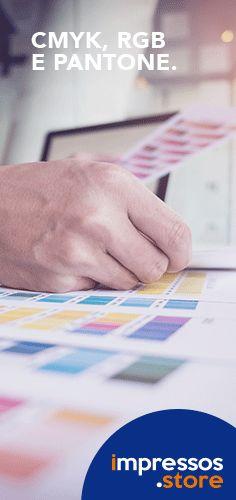As cores RGB são utilizadas em monitores, projetores, TVs e câmeras digitais, sendo o mais comum para impressão de arquivos simples, enquanto o CMYK é escolhido para impressão de materiais gráficos e impressões digitais. Já o sistema Pantone é baseado em uma mistura específica de pigmentos para se criar novas cores e também permite que cores especiais sejam impressas, tais como as cores metálicas (cromadas) dourado, prata e as fluorescentes.