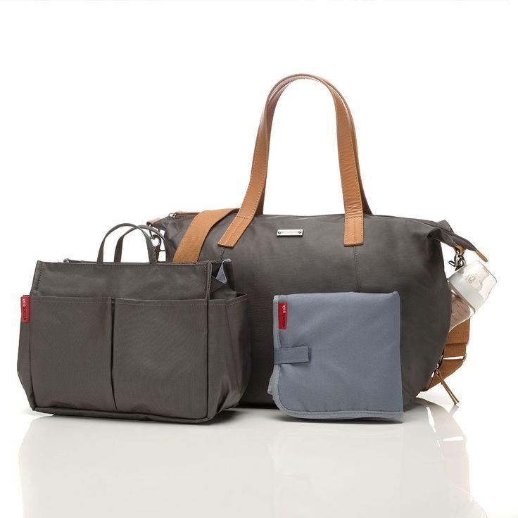 Storksak Changing Bag - Noa - Grey