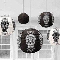Halloween Hanging Lantern Decorations - 30.4cm