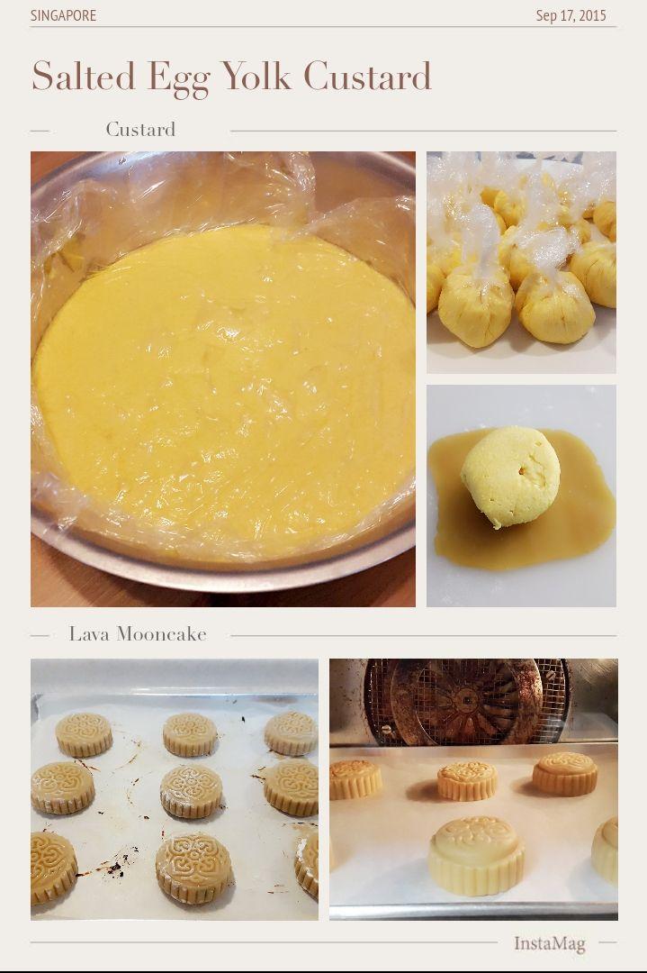 Hani's Kitchen: Lava Mooncake aka Meixin