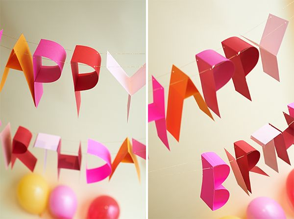 Best 25 Diy happy birthday banner ideas on Pinterest