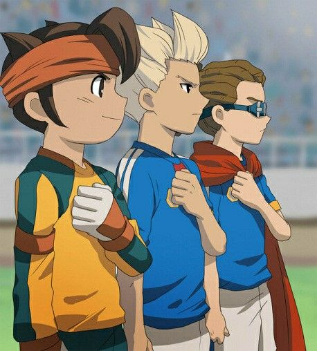 Endou, Goenji and Kidou - Inazuma Eleven